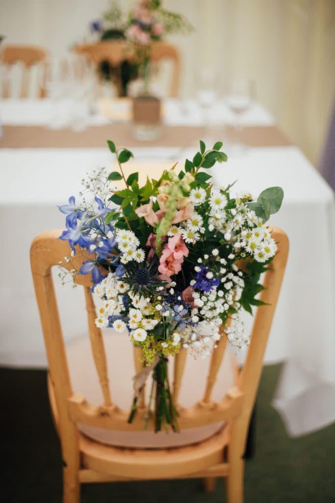 výzdoba na boho svatbu