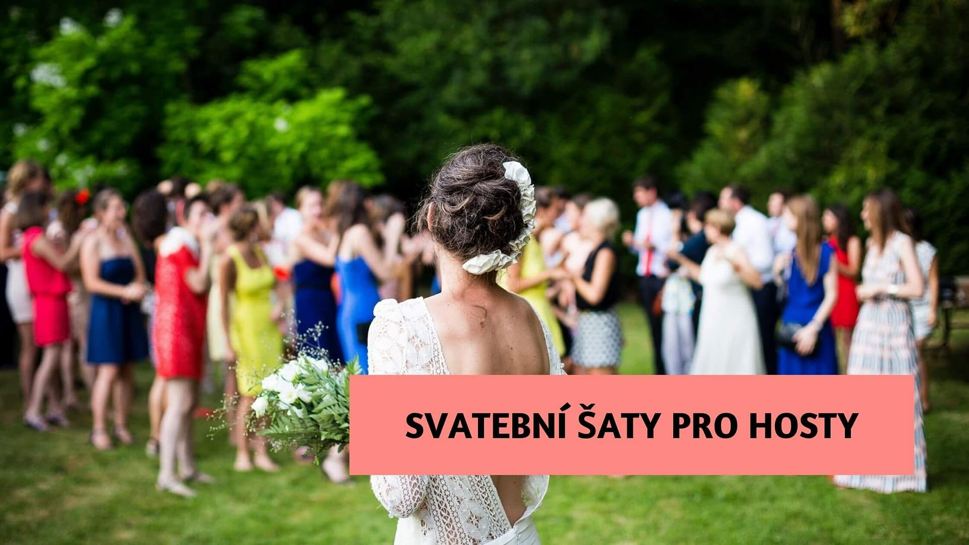 Víte, jaké šaty si vzít na svatbu jako host?