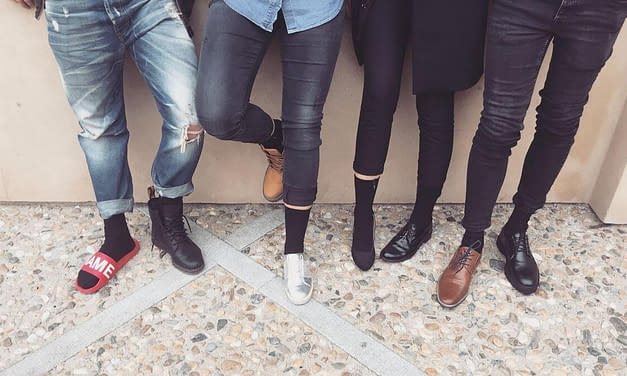 Ponožky na svatbu – buĎte všichni v páru