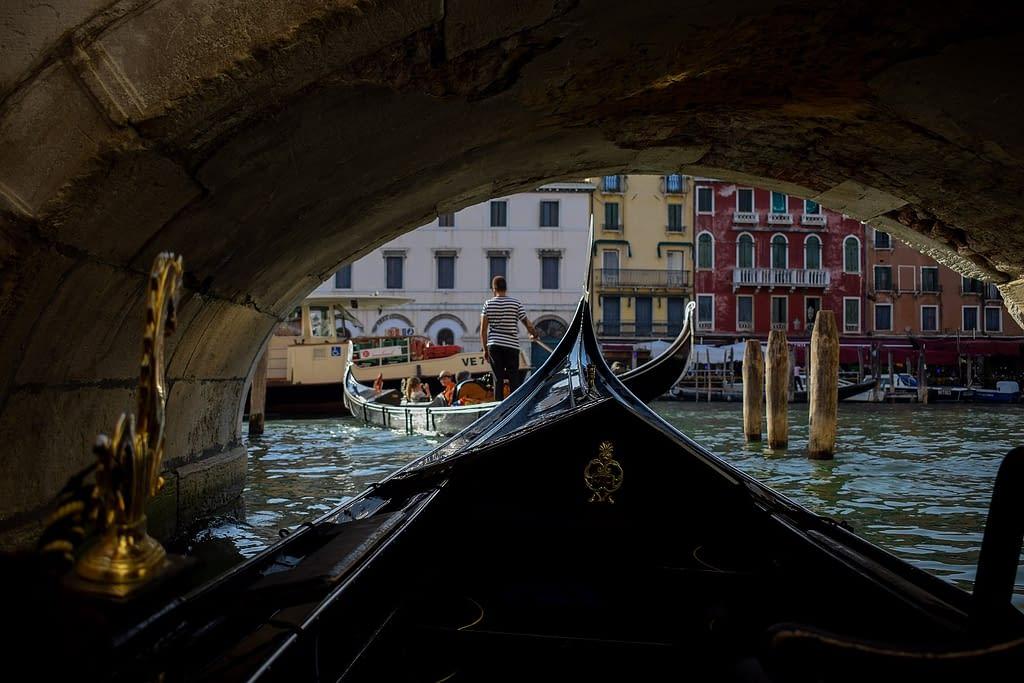Svatební cesta do Benátek