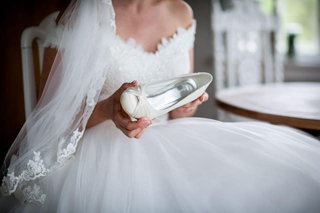 svatební boty vybírejte k šatům