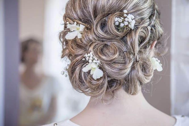 péče o vlasy na svatbu