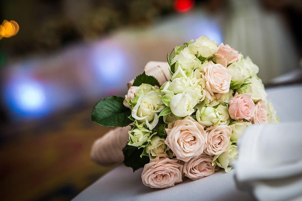 pastelová kytice pro nevětu
