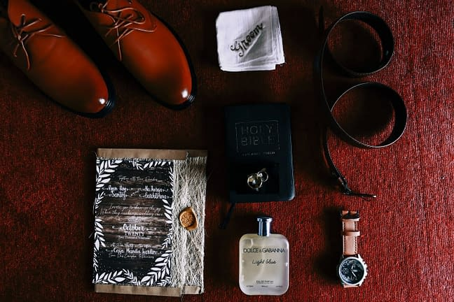hnědé svatební boty pro muže
