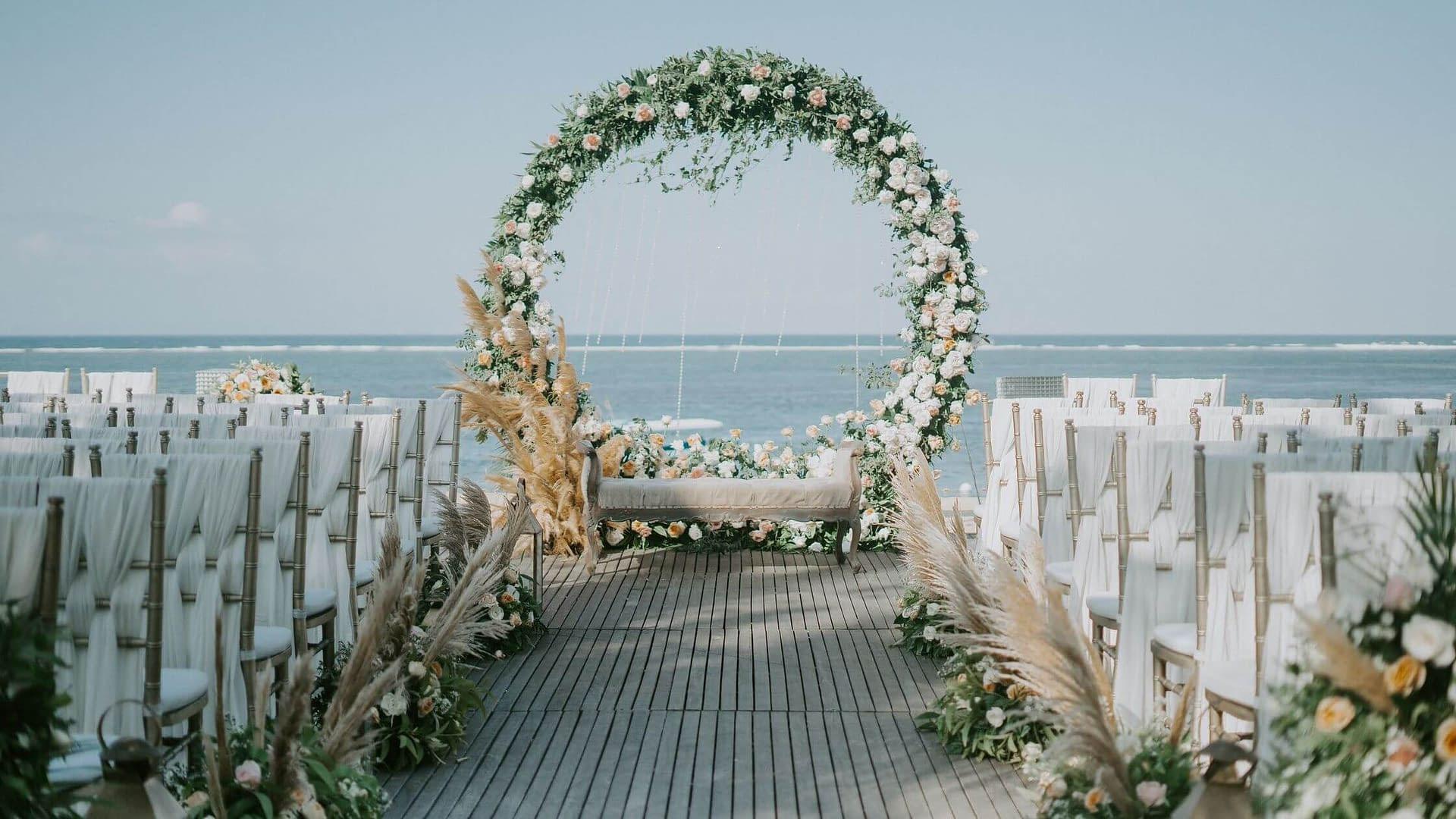 Stavění svatební brány