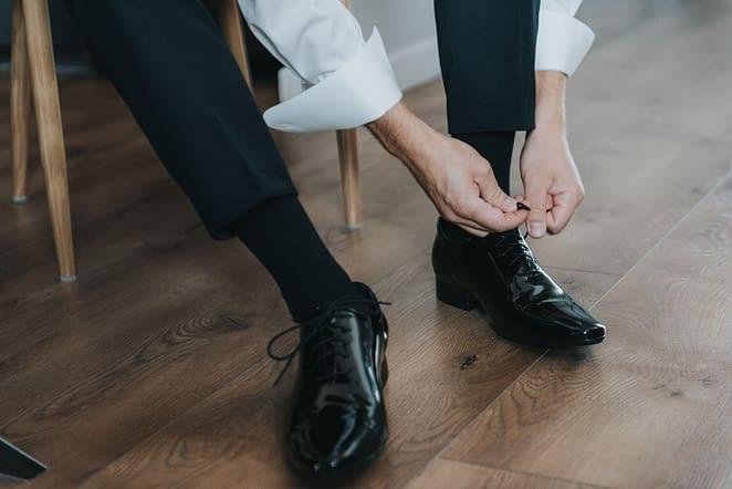 pánské svatební boty