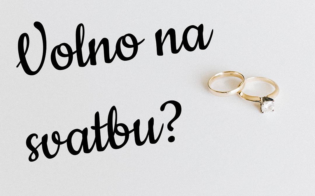 Kdo má nárok na volno na svatbu?
