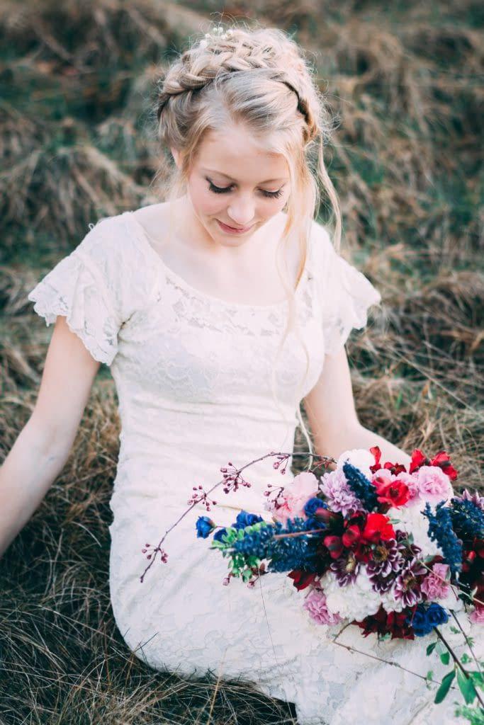 Přírodní boho svatba
