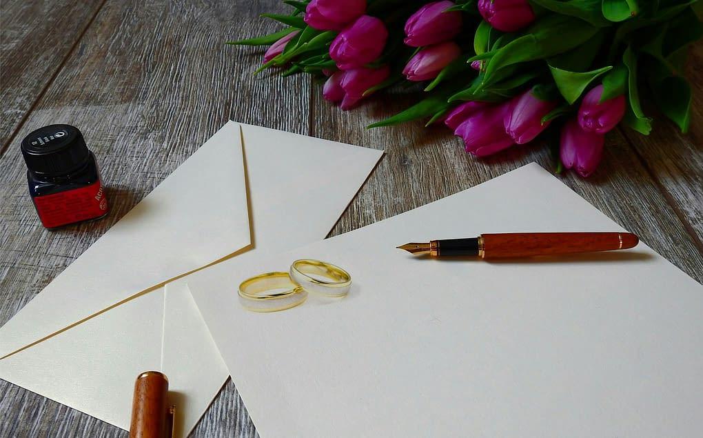 Svatební etiketa a pozvání na svatbu